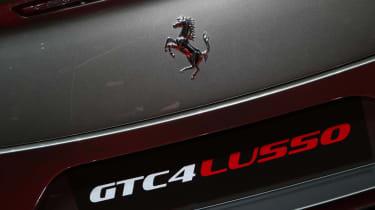 Ferrari GTC4 Lusso - Geneva show rear detail
