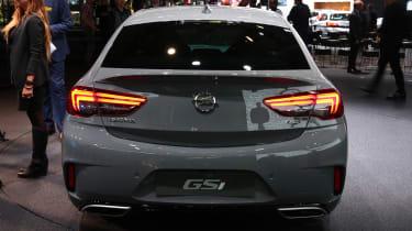Frankfurt - Vauxhall Insignia GSi - boot