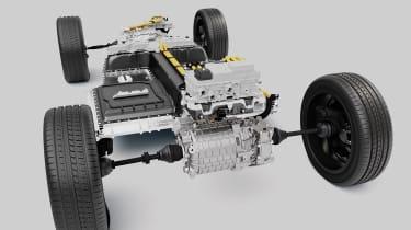Volvo XC40 Recharge - drivetrain