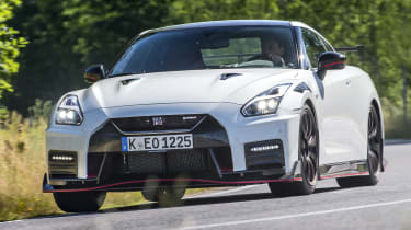 Nissan GT-R NISMO - front cornering