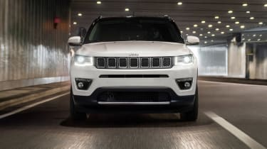 2017 Jeep Compass - front lights