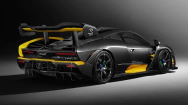 McLaren Senna Carbon Theme bespoke - rear