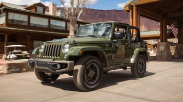 Jeep Wrangler 75th Anniversary - front/side