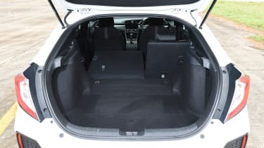 Honda Civic long-term review - Civic boot