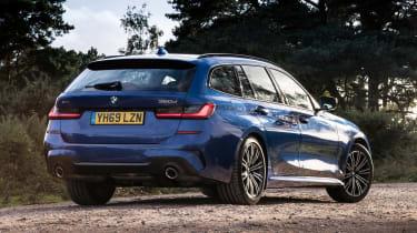 BMW 320d xDrive Touring - rear static