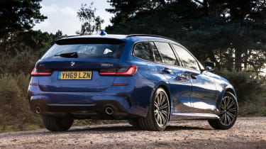 BMW 320d xDrive Touring - rear static