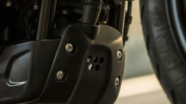 Triumph Street Scrambler review - protection