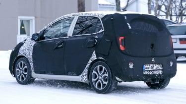 2020 Kia Picanto - spies - rear 3/4 tracking