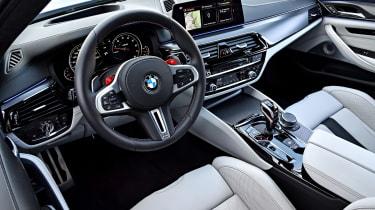 BMW M5 - interior