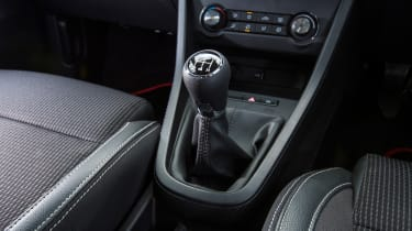 MG3 - gear lever