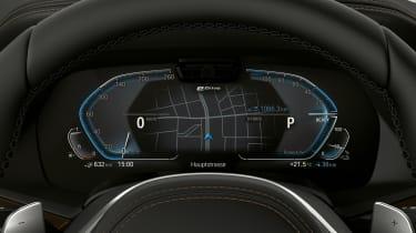 BMW X5 plug-in hybrid - display
