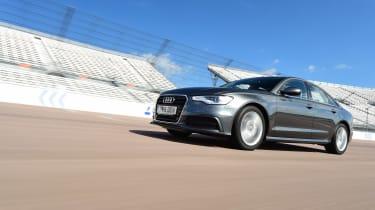 Audi A6 header