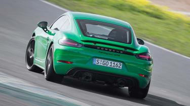 Porsche 718 Cayman GTS 4.0 - rear drift