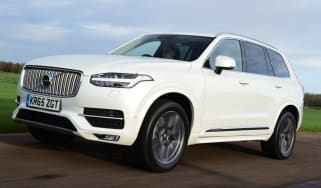 Tow car of the year 2018 - Volvo XC90 front