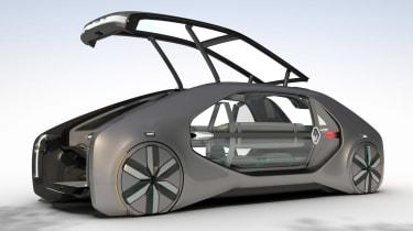 Renault EZ-GO concept - front door open