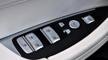BMW X3 M40i - window controls