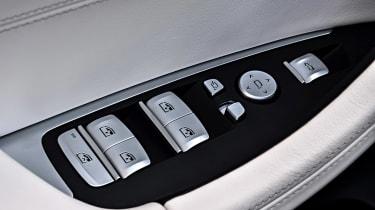BMW X3 M40i - window controls