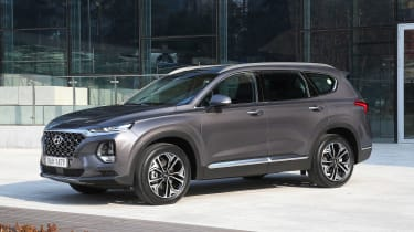 New Hyundai Santa Fe - front static