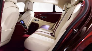 Bentley Flying Spur - studio rear seats