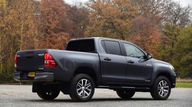 Toyota Hilux - rear static