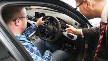 Long-term test review: Audi A4 handover interior