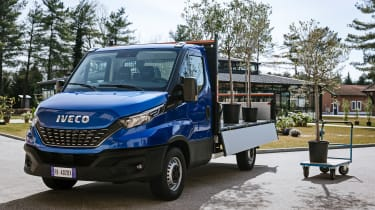 IVECO Daily Cab tipper - front static