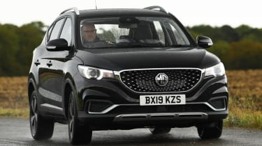 MG ZS EV - front action