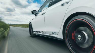 Volkswagen Golf GTI Clubsport 45 - tracking