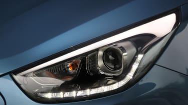 Hyundai ix35 headlight