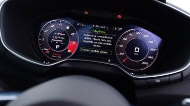 Audi TT RS - speedo