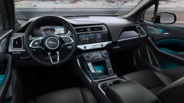Jaguar I-Pace Black - dash
