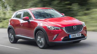 Mazda CX-3 - best crossover cars and SUVs