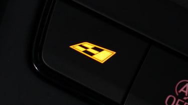 SEAT Leon Cupra long-termer - button