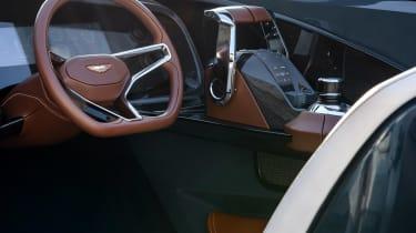 Aston Martin AM37S boat - dash