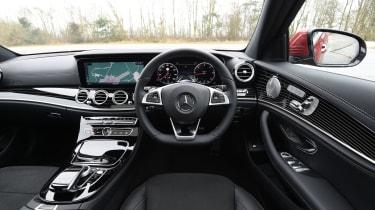 Mercedes E-Class E 220d AMG Line 2017 - interior