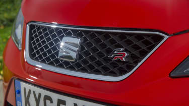 SEAT Ibiza ST front badge