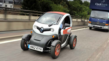 Renault Twizy Second Report Auto Express