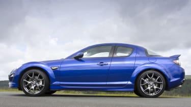 Mazda RX-8 coupe profile