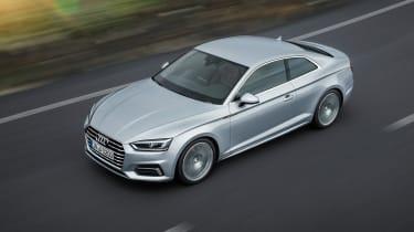 Audi A5 - above