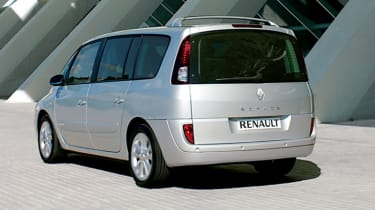 Rear view of Renault Grand Espace