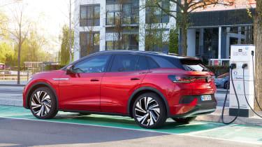 Volkswagen ID.4 GTX charging
