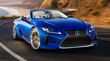 Lexus LC Convertible - front cornering