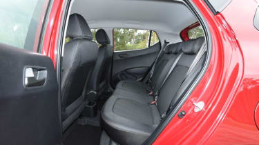 Used Hyundai i10 Mk2 - rear seats