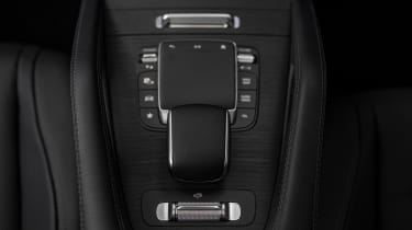 Mercedes GLE Coupe twin test - gear lever