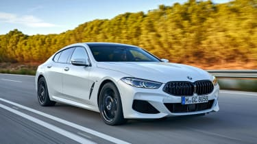 BMW 8 Series Gran Coupe - front tracking