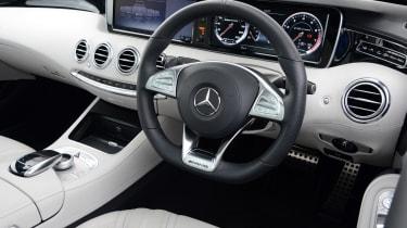 Mercedes S65 AMG interior
