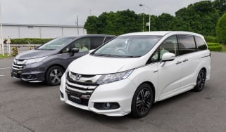 Honda i-MMD hybrid prototype