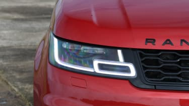 Range Rover Sport headlight