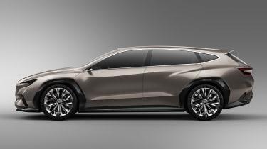 Subaru Viziv Tourer concept - side