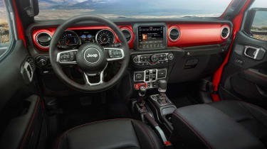 Jeep Gladiator - dash